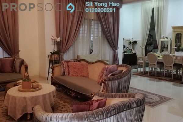 For Sale Condominium at Cahaya Alam, Shah Alam Freehold Semi Furnished 4R/5B 1.3m