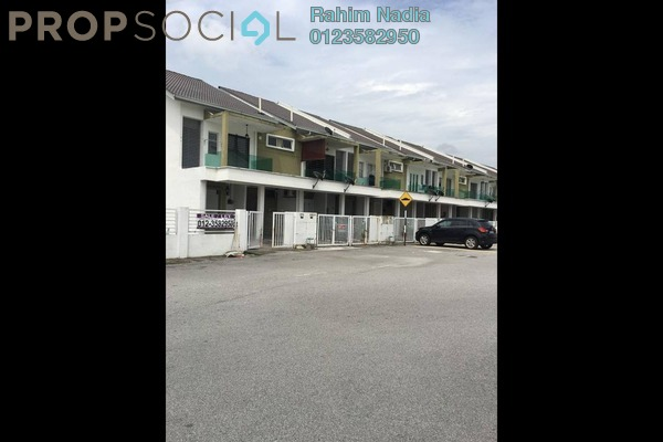 For Sale Townhouse at Pearl Villa, Bandar Saujana Putra Freehold Semi Furnished 4R/2B 410k