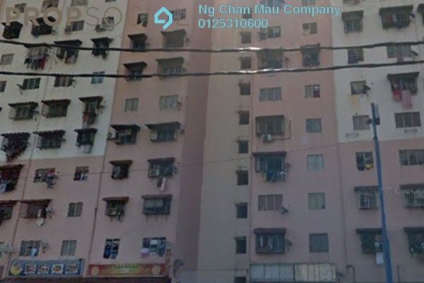 For Sale Apartment at Laksamana, Batu Caves Freehold Semi Furnished 0R/0B 80Ribu