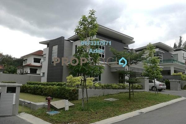 For Sale Bungalow at Taman Langat Idaman, Batu 9 Cheras Freehold Semi Furnished 6R/7B 1.6m