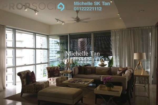 For Rent Duplex at Park Seven, KLCC Freehold Semi Furnished 5R/7B 18k