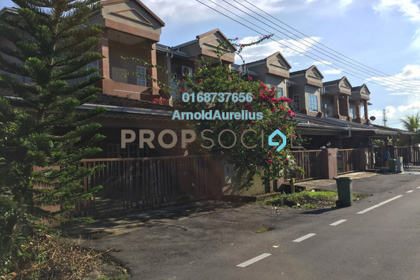 For Sale Terrace at Pine Villa Garden Homes, Kuching Leasehold Unfurnished 4R/3B 450k