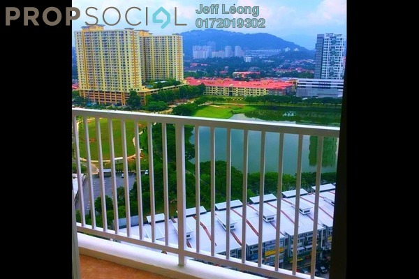 For Rent Condominium at Platinum Lake PV15, Setapak Freehold Semi Furnished 3R/2B 1.9k