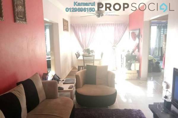 For Sale Apartment at Laguna Biru, Rawang Freehold Semi Furnished 3R/2B 220k
