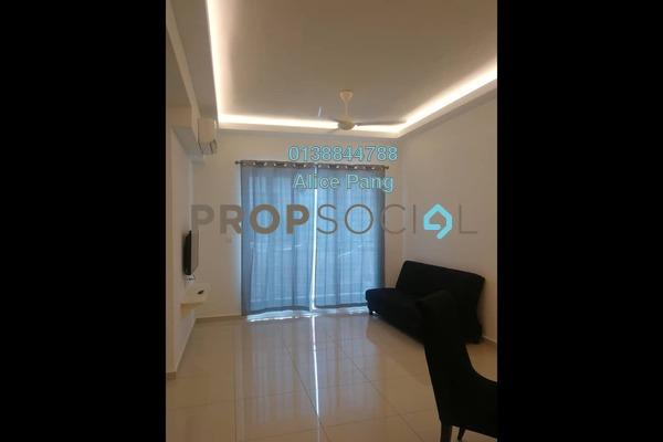 For Rent Condominium at Solaria Residences, Sungai Ara Freehold Semi Furnished 3R/2B 1.8k