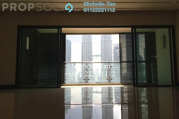 For Rent Condominium at The Binjai On The Park, KLCC Freehold Semi Furnished 4R/5B 24k