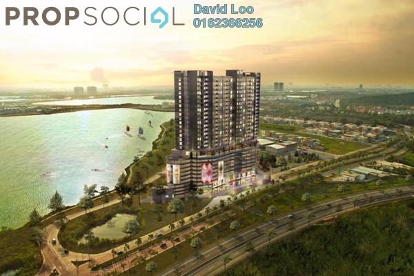 For Sale Condominium at Saville @ D'Lake, Puchong Freehold Semi Furnished 2R/2B 316k
