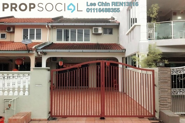 For Sale Terrace at Taman Suria Jaya, Cheras South Freehold Semi Furnished 4R/3B 568k