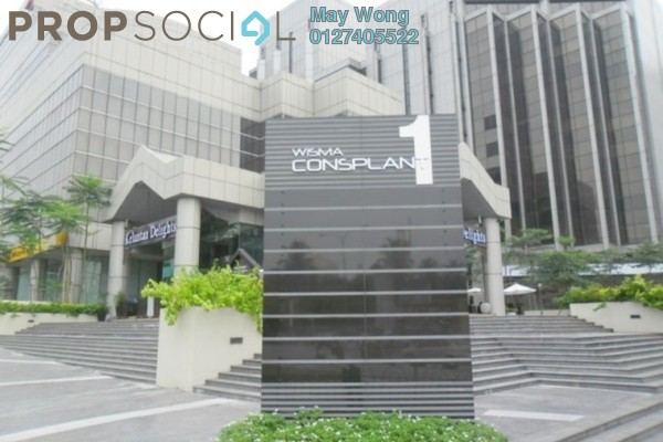 For Rent Office at Wisma Consplant, Subang Jaya Freehold Semi Furnished 0R/0B 6.5k
