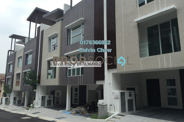 For Sale Terrace at Canary Residence, Cheras Freehold Unfurnished 5R/3B 679k