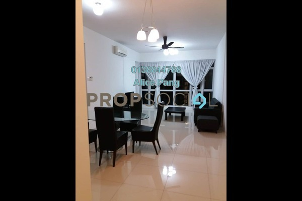 For Rent Condominium at The Peak Residences, Tanjung Tokong Freehold Fully Furnished 3R/2B 2k