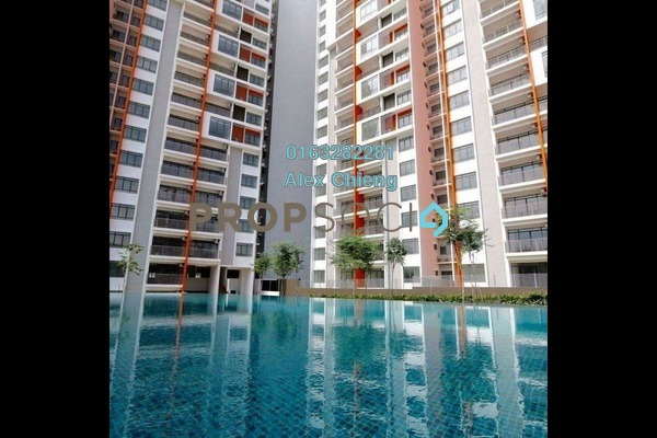 For Sale Condominium at Ameera Residence, Kajang Freehold Semi Furnished 3R/2B 390k
