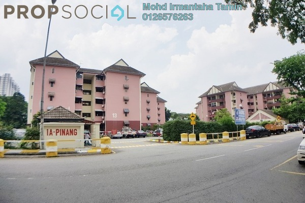 For Sale Apartment at 1A Pinang, Old Klang Road Leasehold Semi Furnished 3R/2B 270k