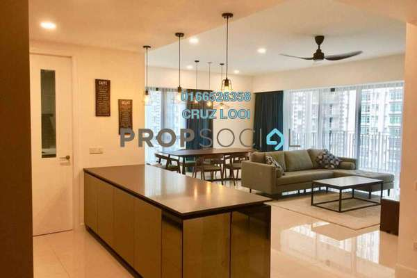 For Rent Condominium at Residensi 22, Mont Kiara Freehold Fully Furnished 3R/4B 7.5k