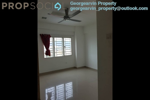 For Rent Condominium at Kepong Central Condominium, Kepong Freehold Semi Furnished 3R/2B 1.5k