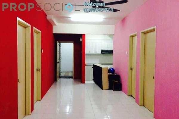 For Rent Apartment at Sri Harmonis Apartment, Gombak Freehold Semi Furnished 3R/2B 1k