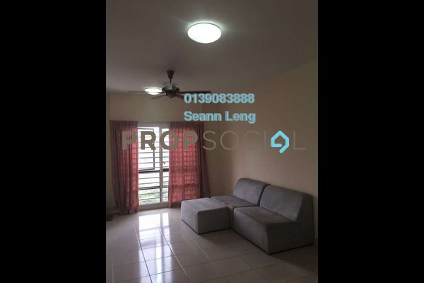 For Rent Condominium at Pelangi Damansara Sentral, Mutiara Damansara Leasehold Semi Furnished 1R/1B 1.5k