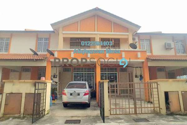For Sale Townhouse at Seri Pristana, Sungai Buloh Freehold Semi Furnished 3R/2B 310k