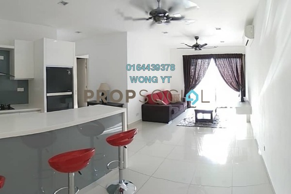 For Rent Condominium at TRiGON Luxury Residences @ Setia Walk, Pusat Bandar Puchong Freehold Fully Furnished 2R/2B 3k