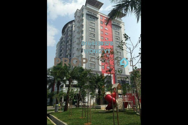 For Sale Serviced Residence at Calisa Residences, Puchong Freehold Semi Furnished 3R/2B 350k