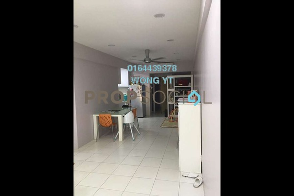 For Sale Apartment at Calisa Residences, Puchong Leasehold Semi Furnished 3R/2B 320k