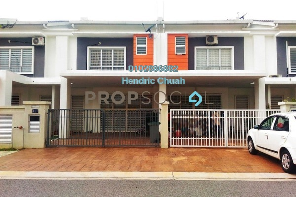 For Sale Terrace at S2 Heights, Seremban 2 Freehold Unfurnished 4R/4B 550k