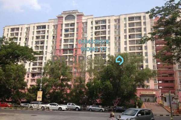 For Sale Apartment at Sutramas, Bandar Puchong Jaya Freehold Semi Furnished 3R/2B 290k