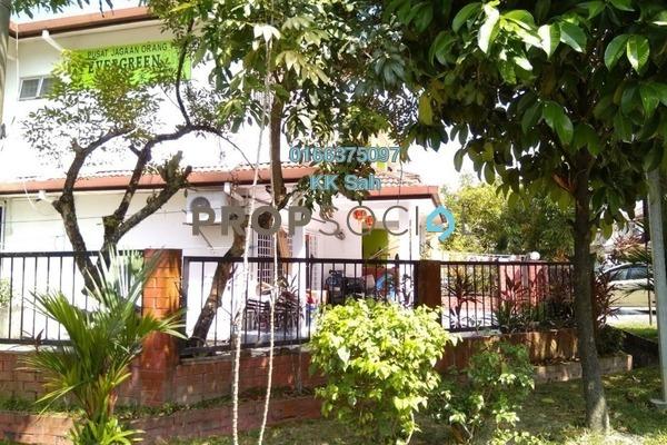 For Sale Link at SL8, Bandar Sungai Long Freehold Semi Furnished 4R/3B 738k