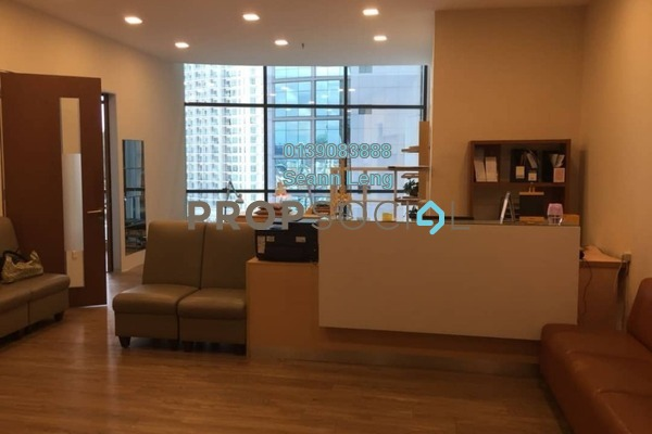 For Rent Office at The Vertical, Bangsar South Freehold Semi Furnished 2R/1B 3.95k