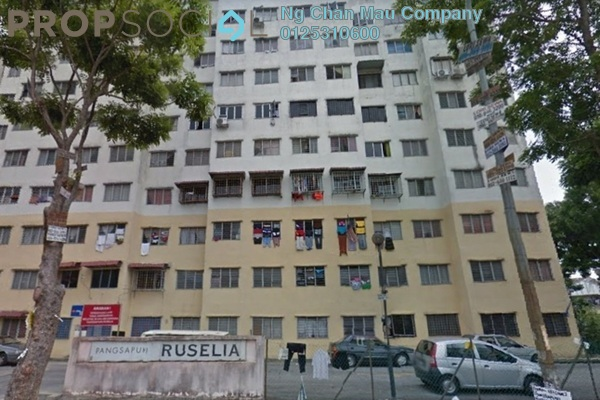 For Sale Apartment at Ruselia Apartment, Bandar Putra Permai Freehold Semi Furnished 3R/0B 120k