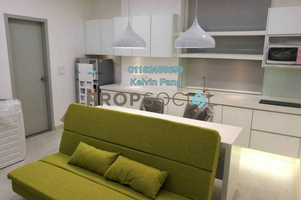 For Rent Condominium at Straits Garden, Jelutong Freehold Fully Furnished 1R/1B 1.65k