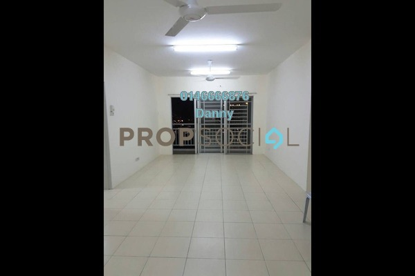 For Sale Condominium at Platinum Lake PV12, Setapak Freehold Semi Furnished 3R/2B 415k
