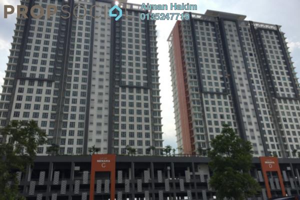 For Sale Condominium at The Arc, Cyberjaya Freehold Semi Furnished 3R/2B 300k
