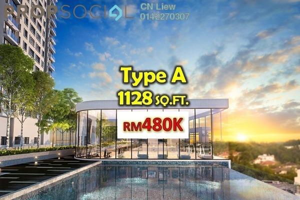 For Sale Condominium at Zenopy Residence, Seri Kembangan Freehold Semi Furnished 4R/2B 480k
