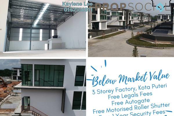 For Sale Factory at Nouvelle Industrial Park, Kota Puteri Leasehold Unfurnished 0R/7B 2.33m