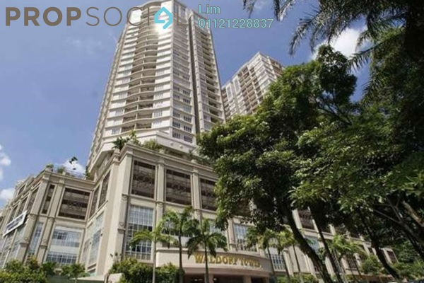 For Rent Condominium at Waldorf Tower, Sri Hartamas Freehold Semi Furnished 3R/3B 3.3k