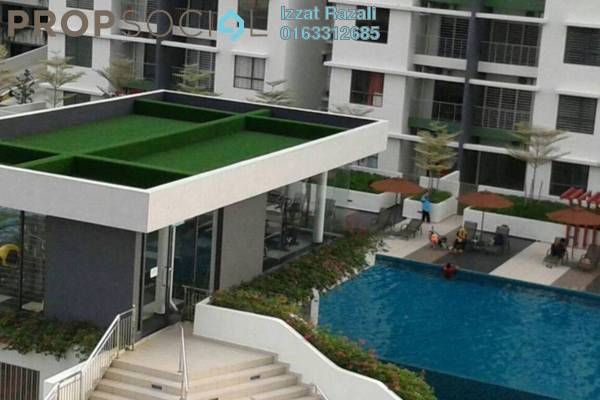 For Rent Condominium at Ivory Residence, Kajang Freehold Fully Furnished 3R/2B 1.2k