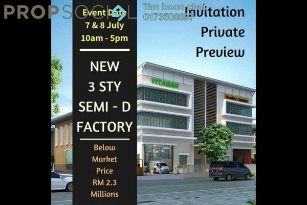 For Sale Factory at Nouvelle Industrial Park, Kota Puteri Freehold Unfurnished 0R/0B 2.34m