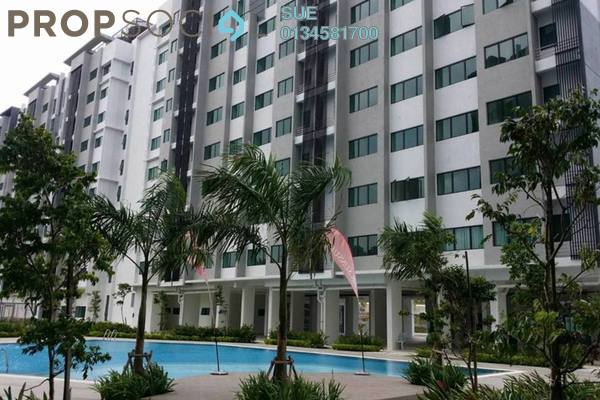 For Sale Apartment at Suria Rafflesia, Setia Alam Freehold Unfurnished 3R/2B 280k