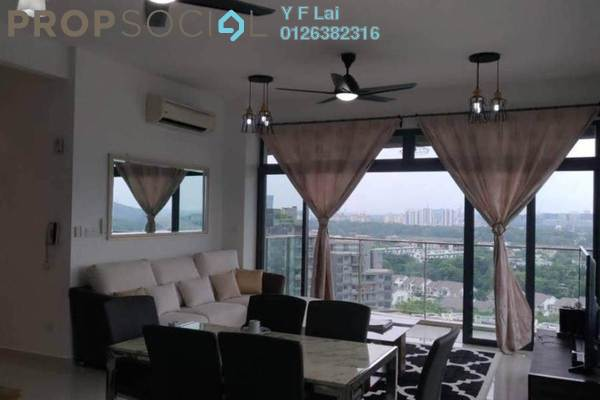 For Rent Condominium at Mirage By The Lake, Cyberjaya Freehold Fully Furnished 3R/3B 2.6k