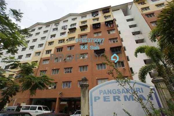 For Sale Apartment at Taman Pandamaran Jaya, Port Klang Leasehold Semi Furnished 3R/2B 138k