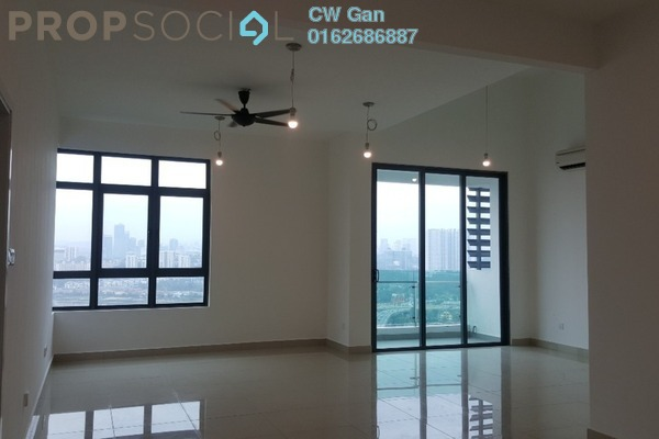 For Rent Condominium at D'Sands Residence, Old Klang Road Freehold Semi Furnished 3R/2B 2k