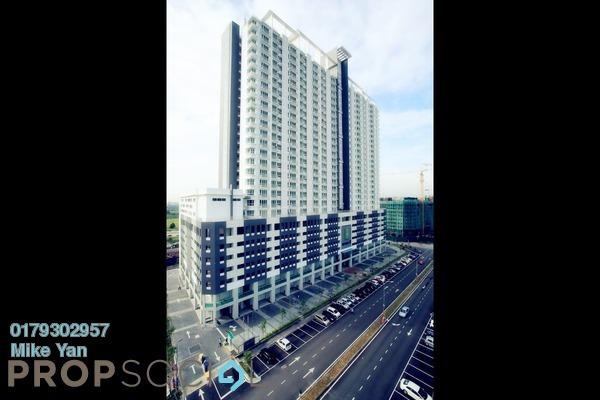For Rent Condominium at Menara U, Shah Alam Freehold Unfurnished 2R/1B 1.2k
