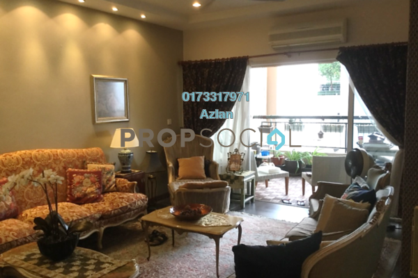 For Sale Condominium at Seri Maya, Setiawangsa Freehold Semi Furnished 4R/4B 1.05m