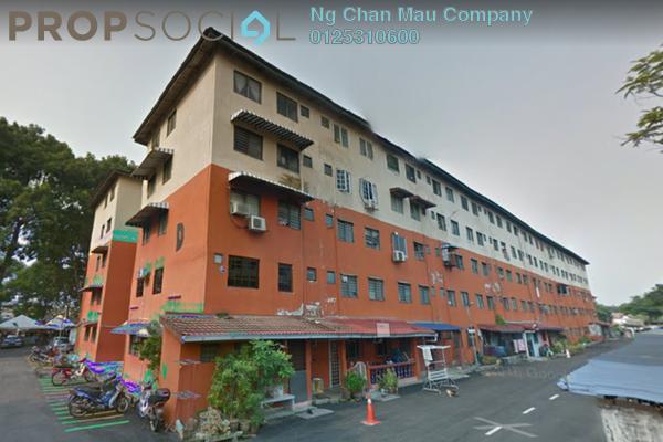 For Sale Apartment at Taman Subang Perdana, Subang Freehold Semi Furnished 0R/0B 90k