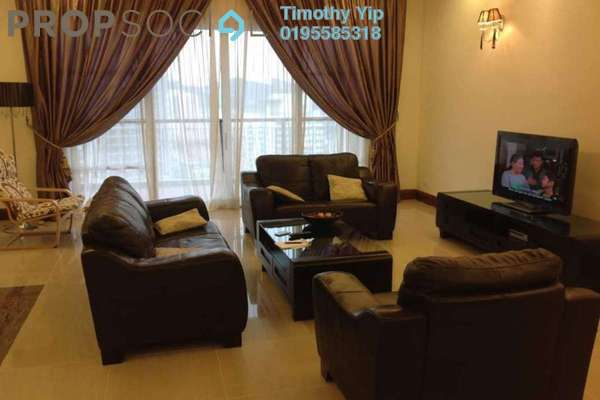 For Sale Condominium at Mont Kiara Aman, Mont Kiara Freehold Fully Furnished 4R/3B 1.5m