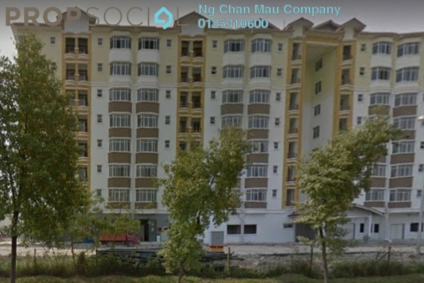 For Sale Apartment at Villamas Apartment, Klang Freehold Semi Furnished 3R/0B 230k