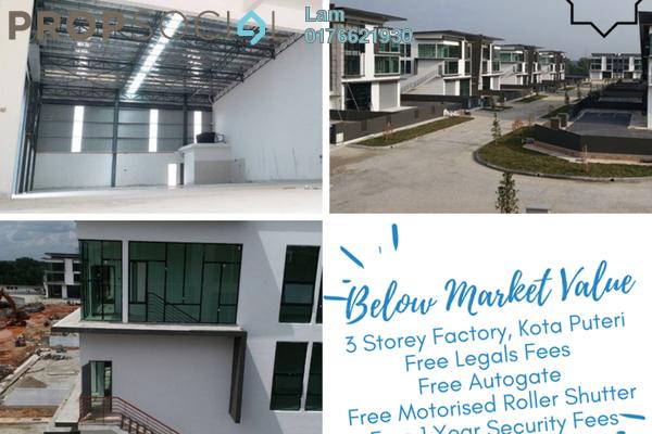For Sale Factory at Nouvelle Industrial Park, Kota Puteri Leasehold Unfurnished 0R/7B 2.31m