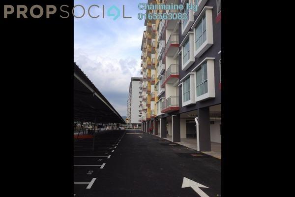 For Sale Condominium at Suria Residence, Bandar Mahkota Cheras Freehold Unfurnished 3R/2B 350k