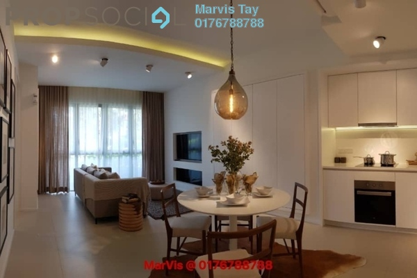 For Sale Serviced Residence at Cantara Residences, Ara Damansara Freehold Semi Furnished 2R/2B 712k